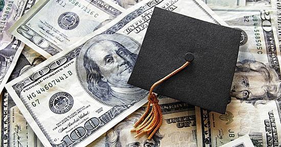 money and graduation cap